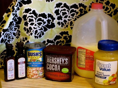 Dark Chocolate Dip Ingredients
