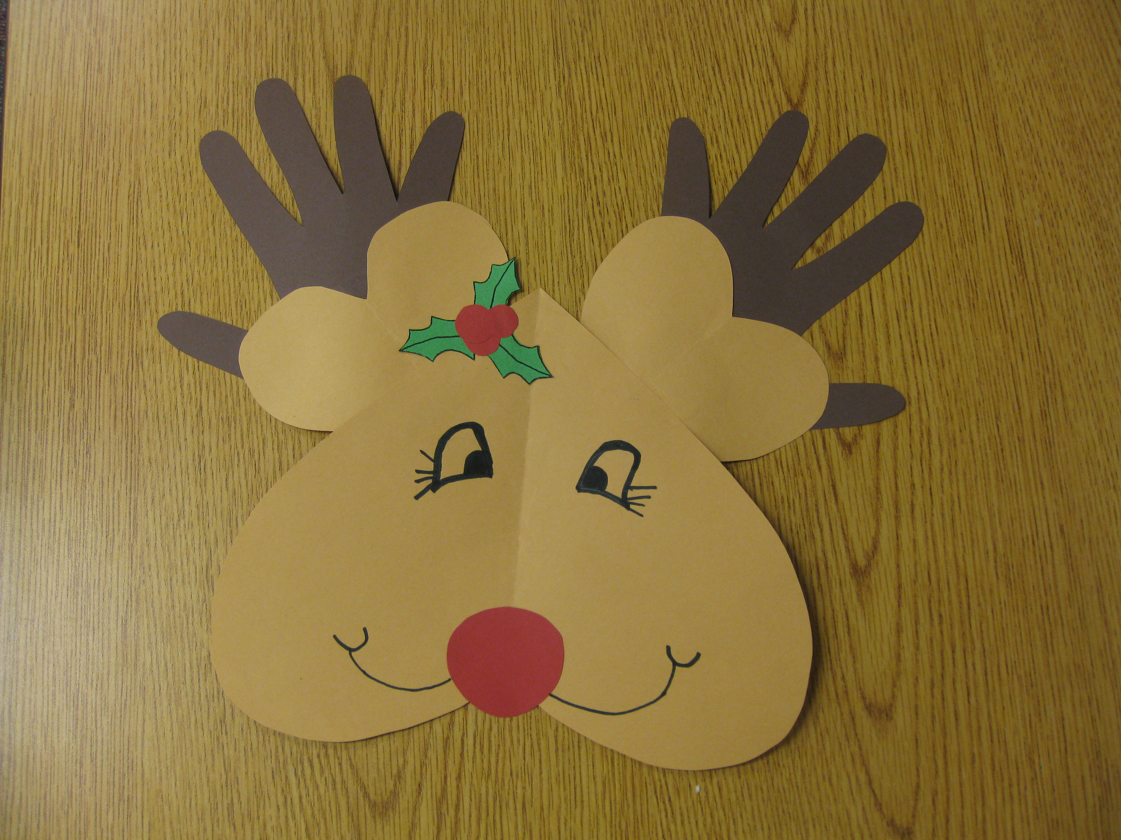 3rd Grade Christmas Craft Ideas Part - 27: The Perfect Way To Discuss Lines Of Symmetry During Christmas!
