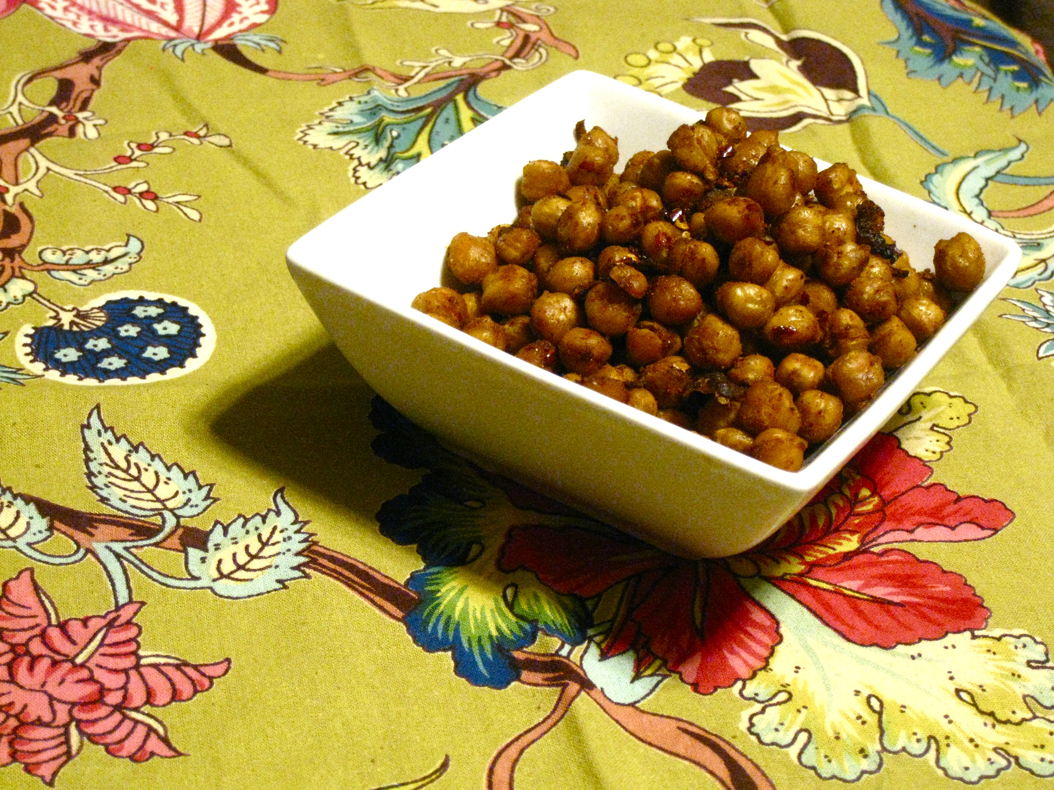 Fajita Roasted Chickpeas –Bet you can't eat just 48– | Spinach ...