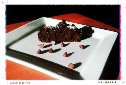 Healthy Grasshopper Pie!
