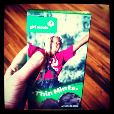 Girl Scout Thin Mints