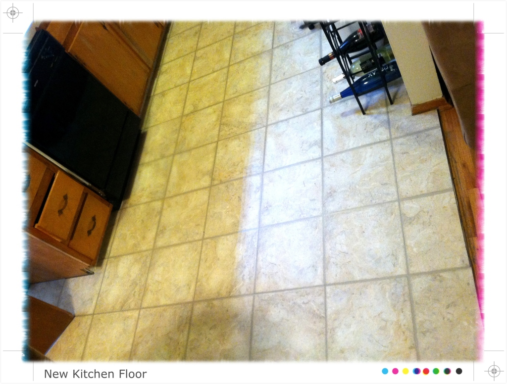 New Kitchen Floor