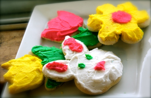 Easter Spring Sugar cookies