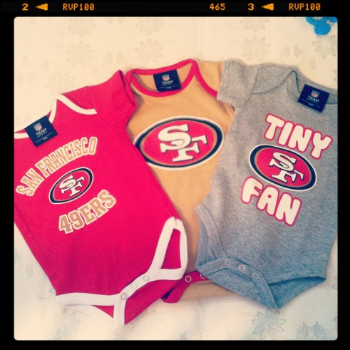 San Francisco 49ers baby clothes
