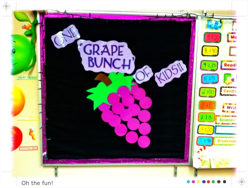 One 'grape bunch' of kids