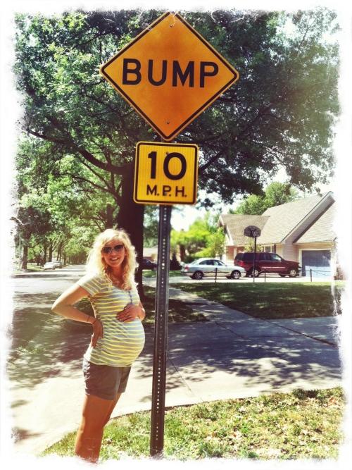 Baby Bump Sign